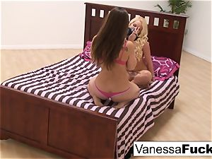 Vanessa cell And Dani Daniels play