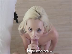 PASSION-HD Elsa Jean rubbed and banged with cum-shot