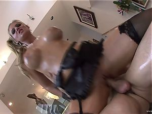 Phoenix Marie super-hot babe filled with french dressing