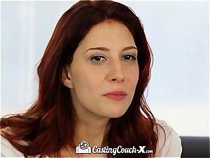 redhead Ashlynn Molloy audition fuck-fest