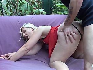 LaCochonne - platinum-blonde hoe Candys luvs a good assfuck pulverize