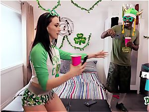 Saint Patricks day fuckfest party