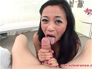chinese blower tongues butt And wanks Out jizm