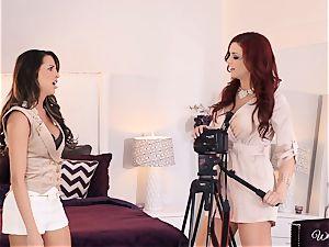 Jayden Cole seduces wondrous audition chick Kortney Kane