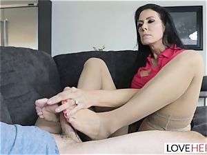 LoveHerFeet - Stepson ravages His Stepmom On The couch