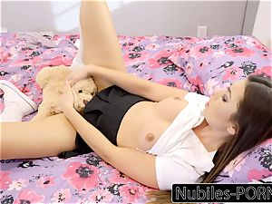 Nubiles-Porn super-hot daughter-in-law unloads On Daddy's ample fuckpole