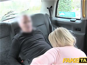 fake taxi luxurious mum with phat mammories fellates shaft