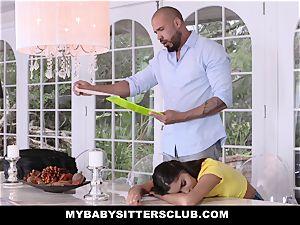 MyBabySittersClub - adorable teen nanny ravages schoolteacher