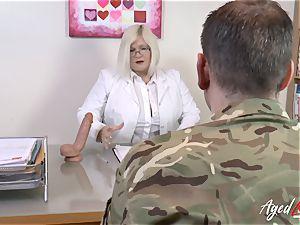 AgedLovE Lacey Starr fuckin' stiff with Soldier