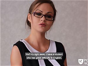 porn ACADEMIE - british Tina Kay steamy anal invasion in threeway