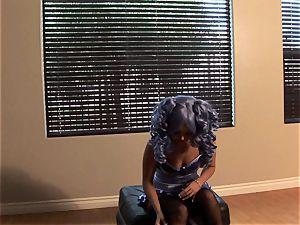 Aaliyah love blue hair bts photoshoot