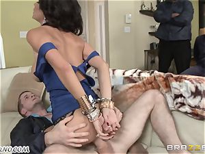 Jessica Jaymes - You've been a bad dame, so I will punish you now!