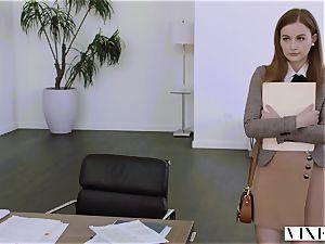 VIXEN Intern dominated By Her Father's biz fucking partner