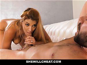 SheWillCheat - hot cheating wifey revenge plumbing