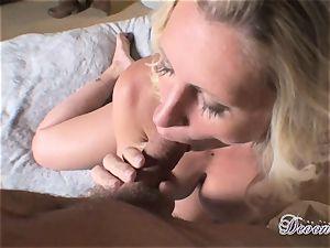 Devon Lee is lovinТ her man's flog tucked in her sugary-sweet facehole