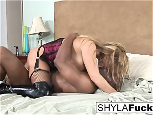 Prince produces a black bone For Shyla