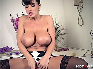 large, Soapy mounds cougar Lisa Ann