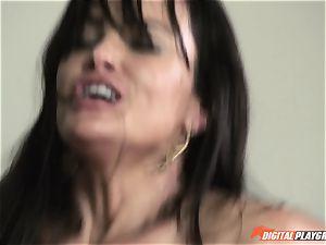 Getting giant knob deep into Lisa Ann