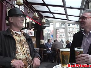 Pussyeaten amsterdam hooker loves tourist