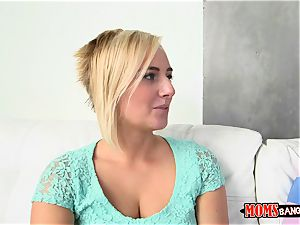 torrid mummy India Summers caught jerking by her step daughter Kate England and her boyfriend