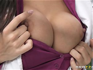 physician Mercedes Carrera works wonders with her udders