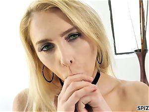 Spizoo - witness nubile Alix Lyn sucking a immense fuckpole