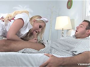 Nurse Vanessa gets screwed hard