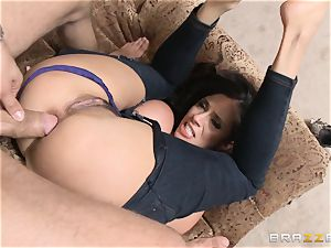 Ariella Ferrera gets forgiven with some assfuck bang-out