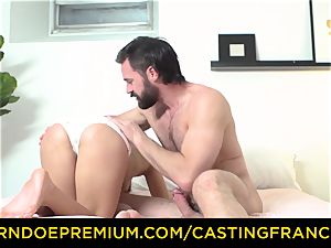 casting FRANCAIS - fledgling sweetie smashed and jizz glazed