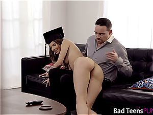 Jillian is a kinky college girl who needs to get disciplined