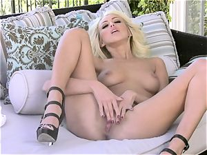 Breanne Benson is frolicking super hot with her sumptuous nips for one insatiable activity