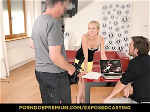 unsheathed casting - curvy stunner hook-up expertise test in audition