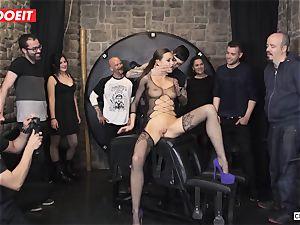 brit stunner Tina Kay Gets subjugated