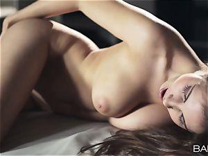 luxurious Connie Carter naked masturbation