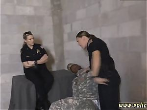 horny cougar ass fucking first-ever time faux Soldier Gets Used as a bang fucktoy