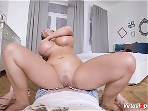 monster baps german milf Sandra Sturm pov
