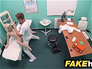 fake health center kinky doc gets to bang a new cunny