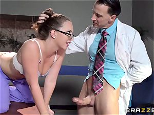 Nurse Maddy OReilly puts things right with a humping