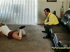 Ms Paris and Her Taboo Tales-Daddy daughter-in-law practice