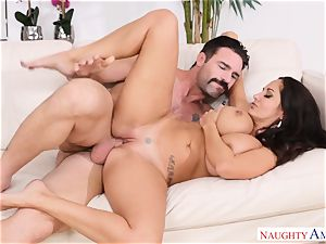 Ava Addams romped on the bed