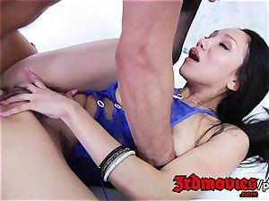 torrid japanese Vicki haunt penetrated Deep