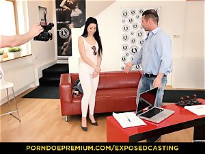 exposed casting - Taissia Shanti humped hard in her donk