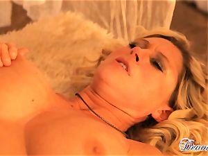 Devon Lee gets her cooter stabbed by a monster manstick
