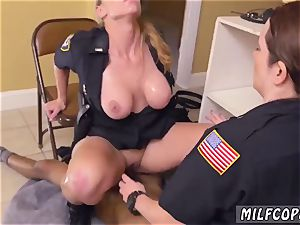 Mature cougar rectal stockings black male squatting in home gets our milf officers squatting