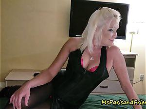John Calls Over a new acquaintance with Ms Paris Rose