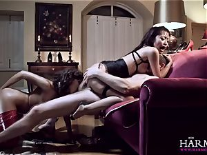 HARMONY VISION anal tramps Marica Hase and Henessy