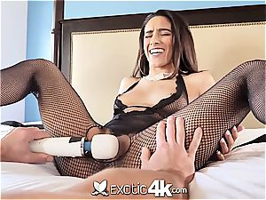 Exotic4k latin Adrian Hush corded up poke and internal cumshot