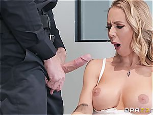 raunchy oral interrogation with Nicole Aniston