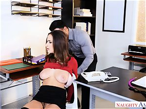 Ashley Adams found roped up ready for a drilling