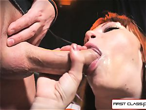 first-ever Class pov - Alexa Nova sucking a huge rod in point of view